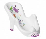 "KEEEPER Anatomic kylpyamme chair Hippo"" white 8619"""