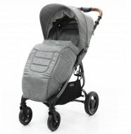VALCO BABY Jalkapussi vaunuihin Snap 4 Trend / Grey Marle 9915 9915