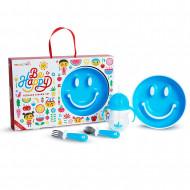 MUNCHKIN lahjasetti 4 kpl Be Happy Blue 051873, Pink 051874 051873/051874