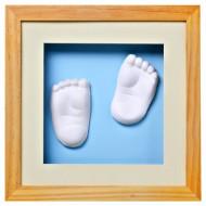 BABY MEMORY PRINT Valokuvakehys 3D Natural, bmp.082 BMP.082